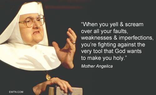 The wit and wisdom of Mother Angelica.